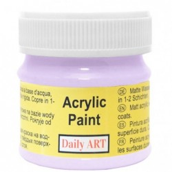 Farba akrylowa 50 ml - jasnofioletowa - doskonała do decoupage