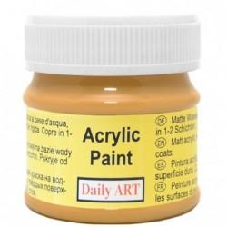 Farba akrylowa 50 ml - ochra - doskonała do decoupage