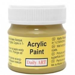 Farba akrylowa 50 ml - oliwka - doskonała do decoupage