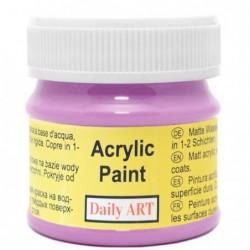 Farba akrylowa 50 ml - purpurowa - doskonała do decoupage