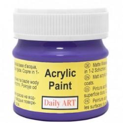 Farba akrylowa 50 ml - fioletowa - doskonała do decoupage