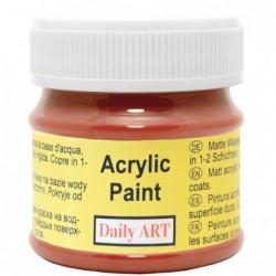 Farba akrylowa 50 ml - czerwona ochra - doskonała do decoupage