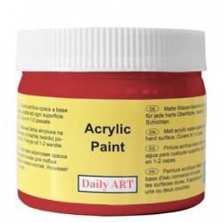 Farba akrylowa 300 ml - czerwona - doskonała do decoupage