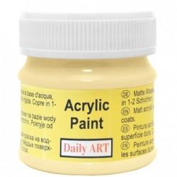 Farba akrylowa 50 ml - budyń - doskonała do decoupage
