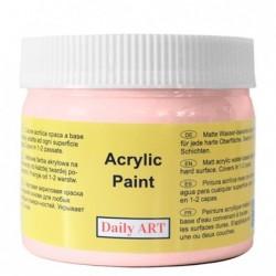 Farba akrylowa 300 ml - różowa - doskonała do decoupage