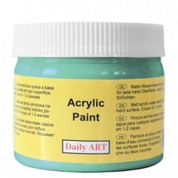 Farba akrylowa 300 ml - turkusowa - doskonała do decoupage