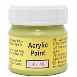 Farba akrylowa 50 ml - limonka - doskonała do decoupage