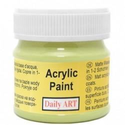 Farba akrylowa 50 ml - pistacjowa - doskonała do decoupage