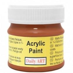 Farba akrylowa 50 ml - siena - doskonała do decoupage