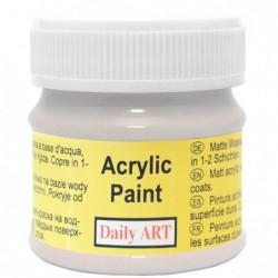 Farba akrylowa 50 ml - szara - doskonała do decoupage