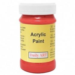 Farba akrylowa 100 ml - szkarłatna - doskonała do decoupage