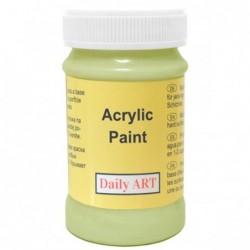 Farba akrylowa 100 ml - pistacja - doskonała do decoupage