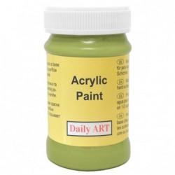 Farba akrylowa 100 ml - limonka - doskonała do decoupage