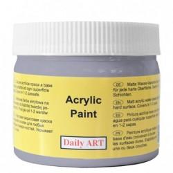 Farba akrylowa 300 ml - zmierzch (ciemnoszara) - doskonała do decoupage
