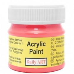 Farba akrylowa 50 ml - amarantowa - doskonała do decoupage