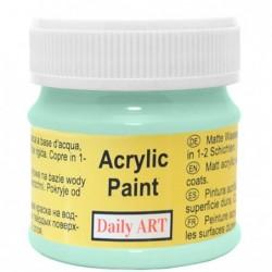 Farba akrylowa 50 ml - miętowa - doskonała do decoupage