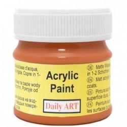 Farba akrylowa 50 ml - cynamon - doskonała do decoupage