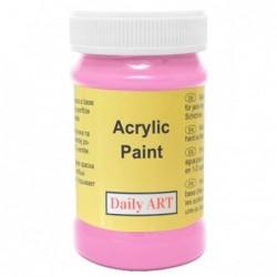 Farba akrylowa 100 ml - fuksja - doskonała do decoupage