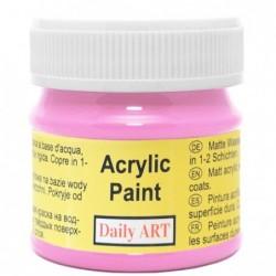 Farba akrylowa 50 ml - fuksja - doskonała do decoupage