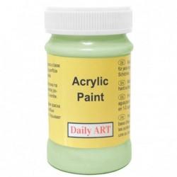 Farba akrylowa 100 ml - pastelowy zielony - doskonała do decoupage