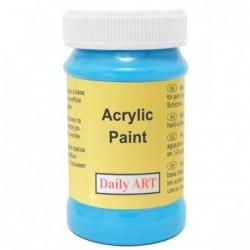 Farba akrylowa 100 ml - lazurowa - doskonała do decoupage