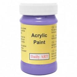 Farba akrylowa 100 ml - fiołkowa - doskonała do decoupage