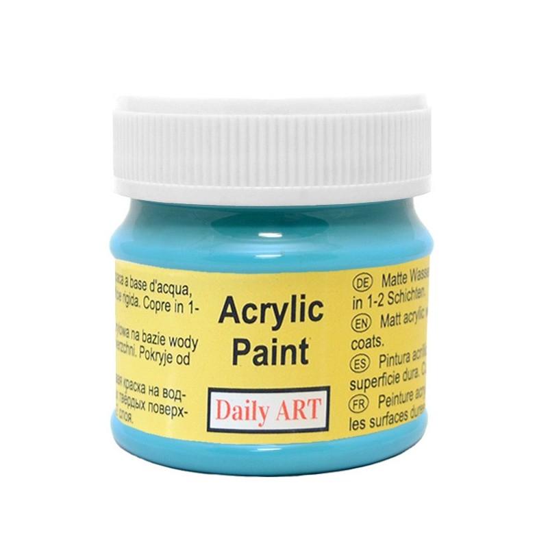 Farba akrylowa 50 ml - morska - doskonała do decoupage