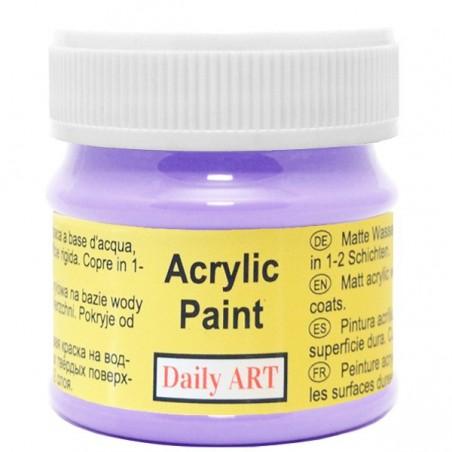 Farba akrylowa 50 ml - jasna lawenda - doskonała do decoupage