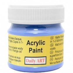 Farba akrylowa 50 ml - królewski błękit - doskonała do decoupage