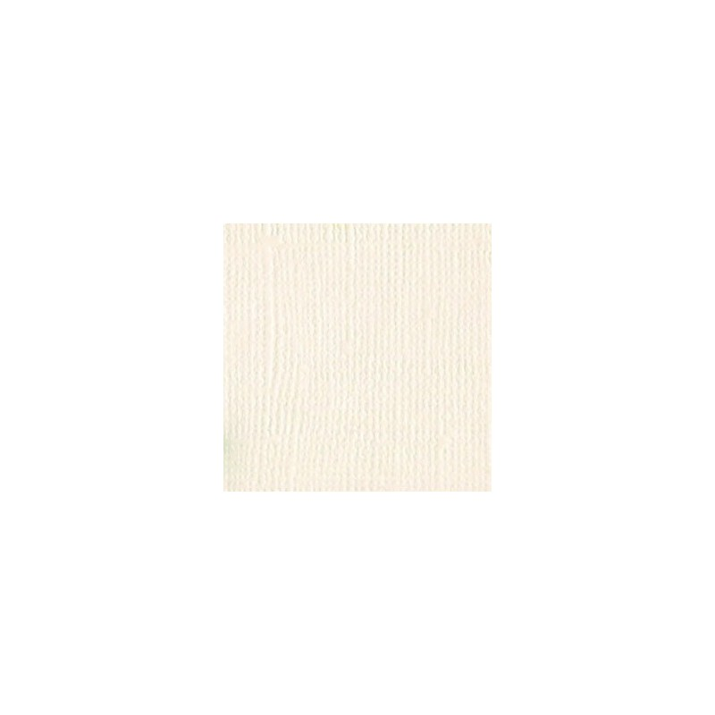 Papier do scrapbookingu, bazowy jasnobeżowy, Bazzill Vanilla - canvas