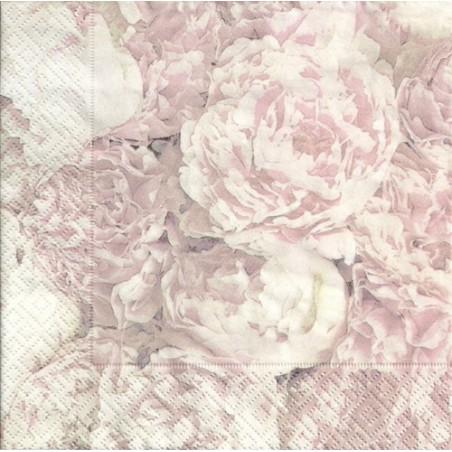 Serwetka - Róże vintage 11