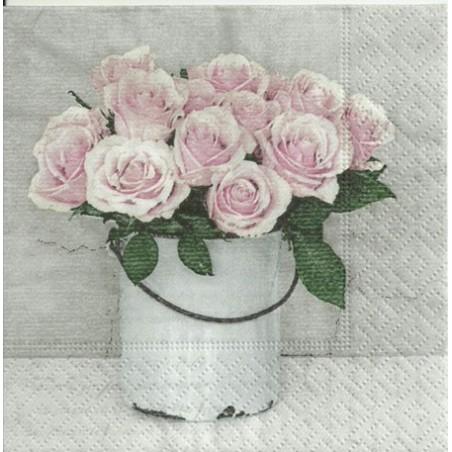 Serwetka - Róże vintage 5, mini
