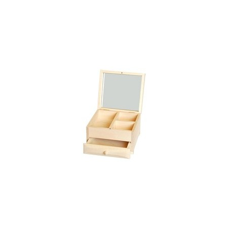 Komódka z lustrem i 1 szufladką