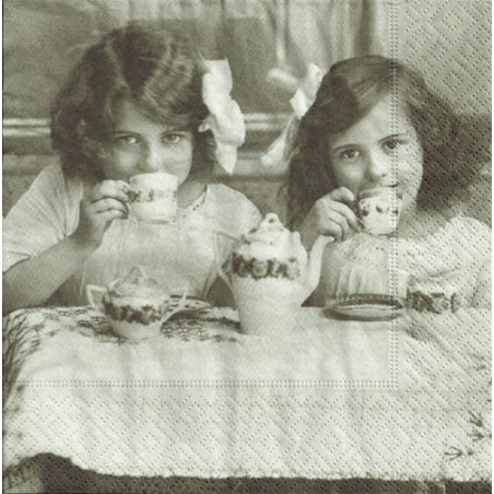 Serwetka - Herbatka vintage