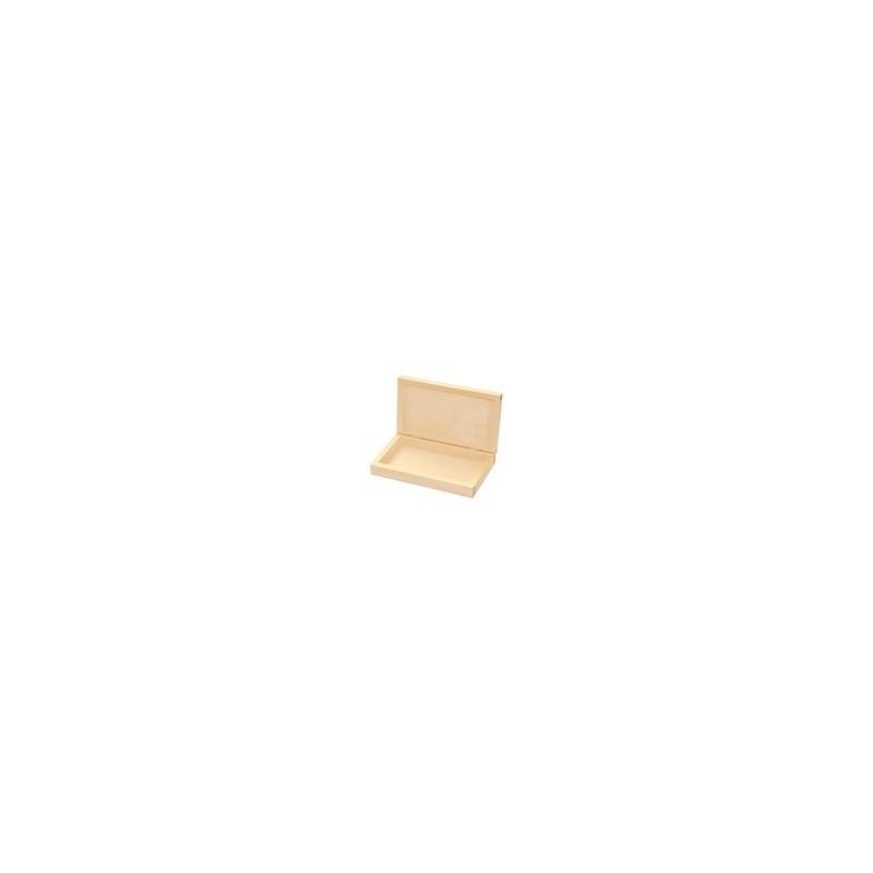 Pudełko drewniane na banknoty - baza do decoupage
