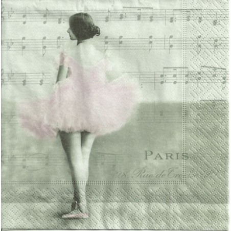 Serwetka - Baletnica vintage