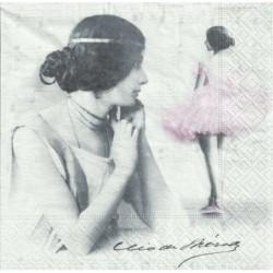 Serwetka - Baletnica vintage 2