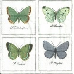 Serwetka - Motyle vintage 2