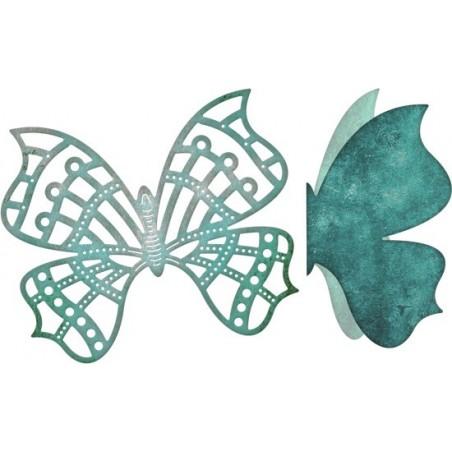 Wykrojnik Cheery Lynn, Whimsical Butterfly w/ Angel Wing [B535]