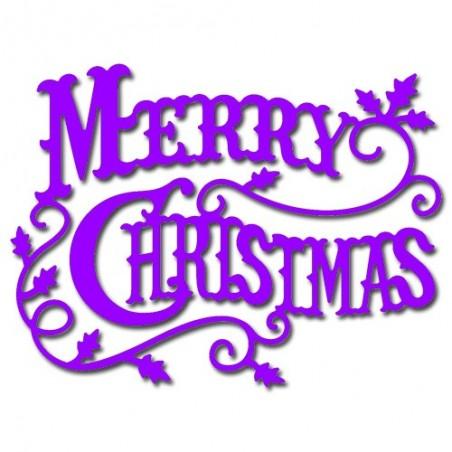 Wykrojnik Cheery Lynn, Merry Christmas CABD-9 WYPRZEDAŻ