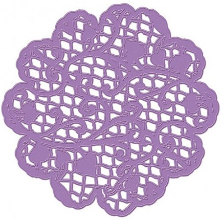 Wykrojnik Prima Marketing Purple Metal Die, Filigree Lace [584061]