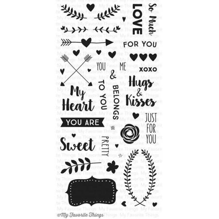 Stemple akrylowe My Favorite Things, So Much Love [CS-104]