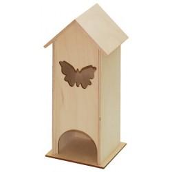 Herbaciarka domek z motylkiem