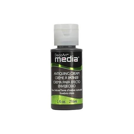 Krem postarzający, Media Antiquining Cream, Raw Umber, 29 ml [DMM151]