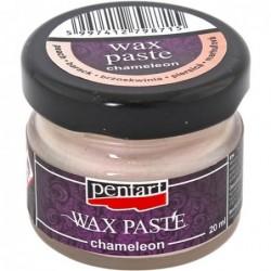 Pasta woskowa Pentart, kameleonowa brzoskwiniowa