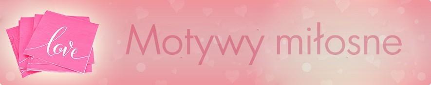 Serwetki do decoupage - motywy miłosne - w sklepie internetowym
