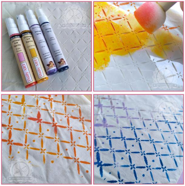 Mgiełki - świetny pomysł na barwienie tkanin