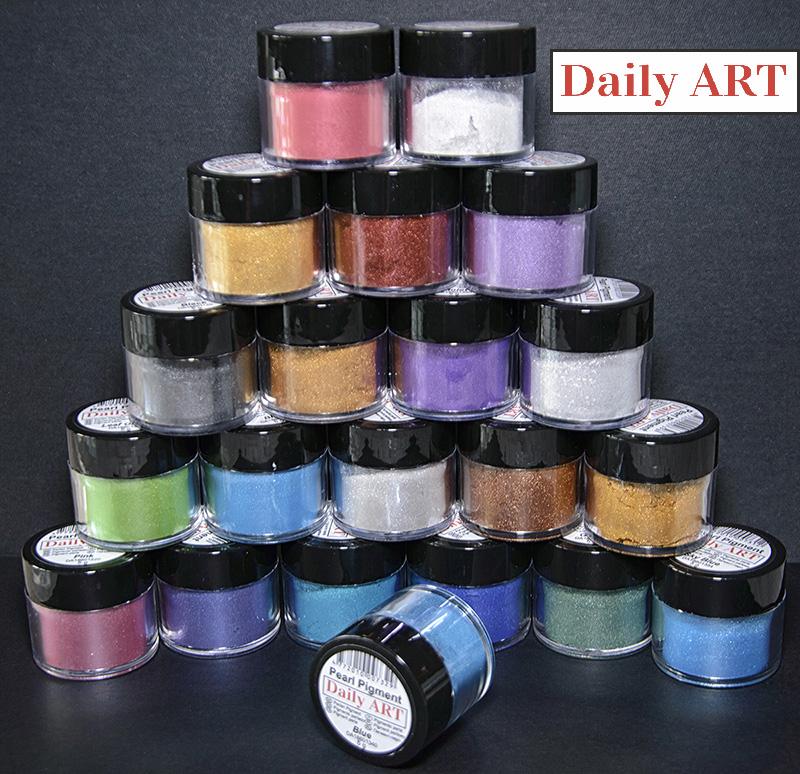 Pigmenty perłowe Daily Art