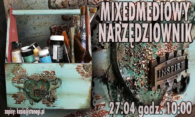 Mixmediowy narzędziownik - warsztaty handmade