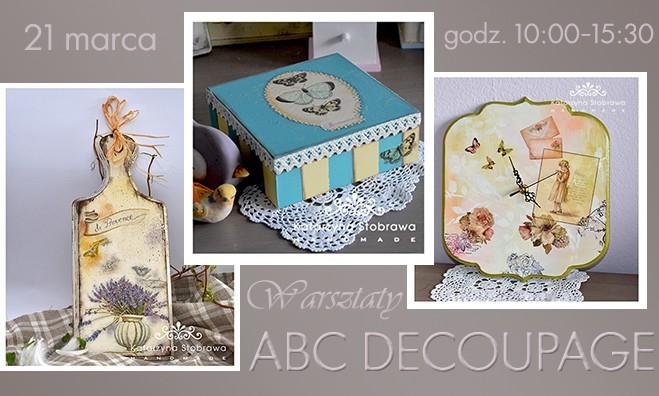 Warsztaty ABC decoupage